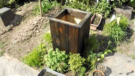 How To Build Wooden Planters by Diy How To Make A Free Wood Planter Box From Reclaimed