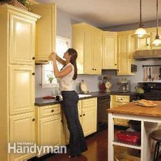spray painting unfinished kitchen cabinets cappuccino granite countertops cabinets