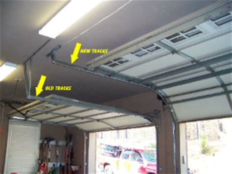 Raise Garage Door Tracks by Home Lift Install Issues Ramsey Equipment Company