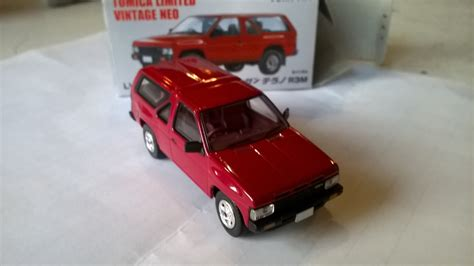 Nissan Terrano R3m Tomica Limited Vintage Neo 2 Seri 4 Unit nissan terrano r3m de tomica limited vintage 1 64 919