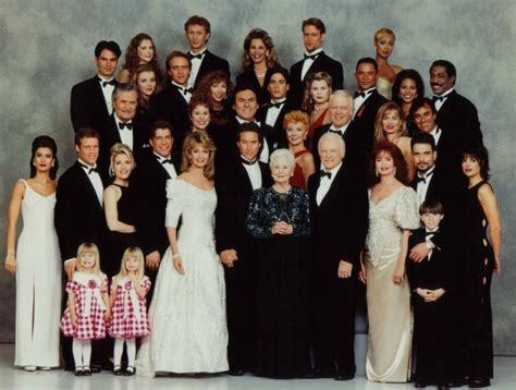 days of our lives the list of characters leaving keeps image 1994 cast picture days of our lives 12089215 923