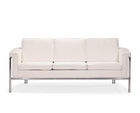 leatherette couch white leatherette sofa z167 leather sofas