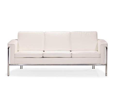 leatherette sofa white leatherette sofa z167 leather sofas