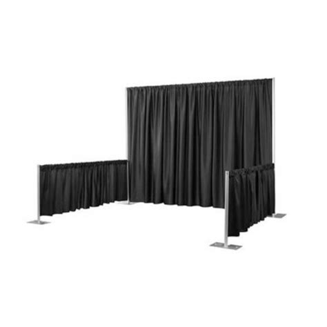drape rental marianne s rentals pipe drape convention booth rentals