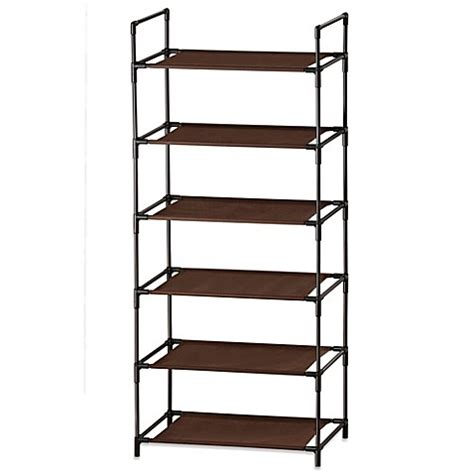 bed bath beyond shelves buy lynk 6 shelf organizer from bed bath beyond