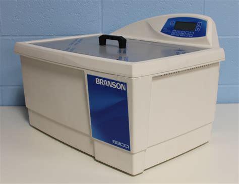 bench cleaner refurbished branson 8800 ultrasonic digital bench top