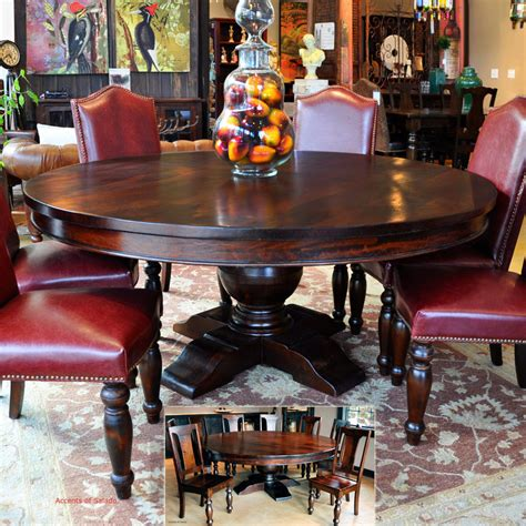 tuscan dining room tables large  dining table
