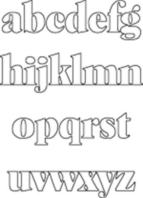 dltk printable alphabet letters more abc template choices