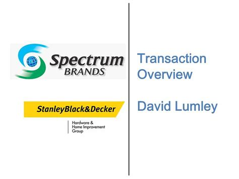 transaction overview david lumley draft
