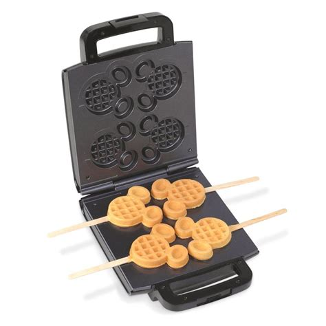 Mickey Kitchen by Disney Mickey Mouse Waffle Maker 4048 The Home Depot