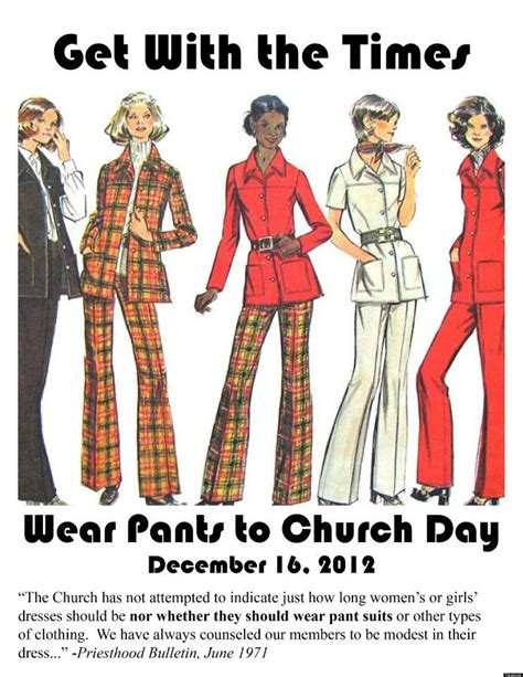 pants to church celebrate inclusiveness in the lds church mormon women wear pants to church get threatened huffpost