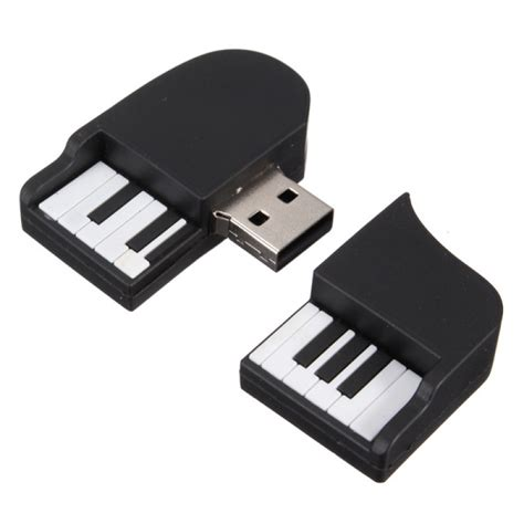 Keyboard Flashdisk buy 16gb mini piano model usb 2 0 flash drive memory stick thumb u disk bazaargadgets