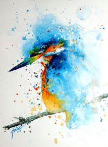 colorful paintings splashed watercolor paintings by tilen ti bored panda