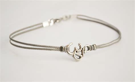 om bracelet s bracelet with tibetan silver om charm
