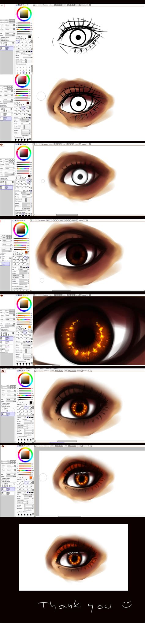 Paint Tool Sai Eye Tutorial By Ryky On Deviantart