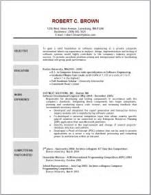 exles of resumes resume sle scholarship