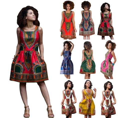 ebay fashion fashion women s traditional african print dashiki dress