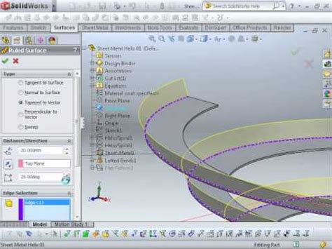 solidworks tutorial helix solidworks tutorial spring with helix and spiral swept