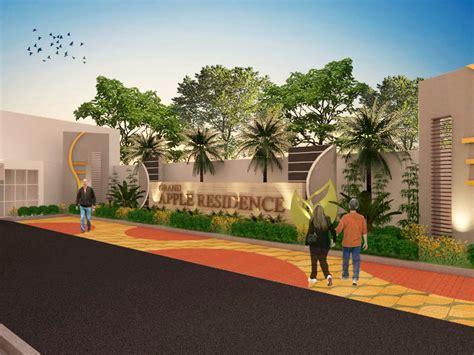 desain gapura untuk perumahan sribu desain booth desain untuk taman perumahan