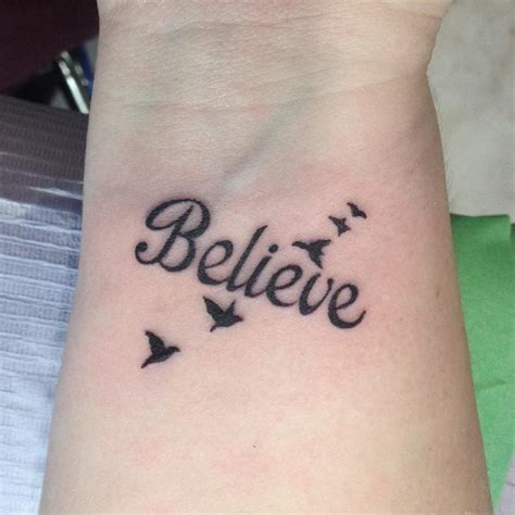 believe tattoo 30 wrist tattoos designs ideas design trends
