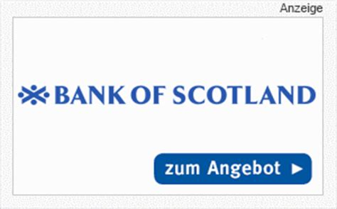 autokredit bank der autokredit der bank of scotland im produkt check
