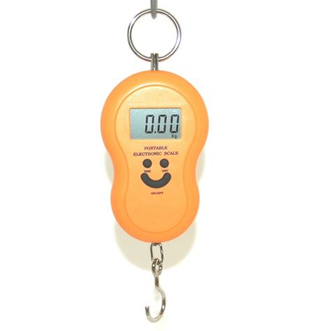 Timbangan Digital 40kg Gantung Hanging Scale Weigher Hanger Import 40kg portable electronic scales for luggage postage fishing etc assorted colours