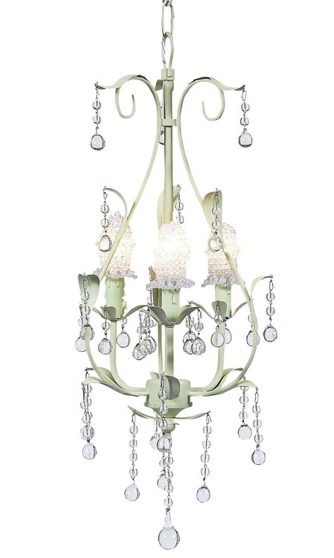 Chandelier Bulb Cover Soft Green Pear 3 Arm Chandelier Optional Clear Bulb Covers