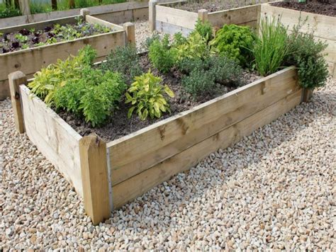 Using Landscape Timbers For Vegetable Garden 33 Best Images About Raised Beds On Raised