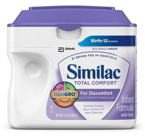 similac total comfort stage 1 similac sensitive optigro infant formula with iron milk