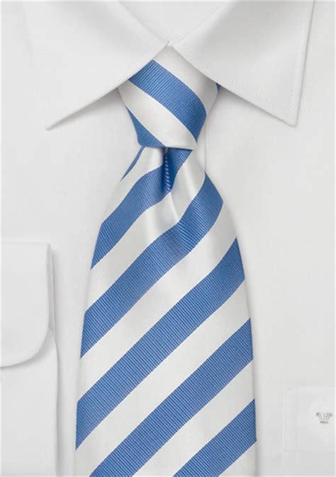 striped silk ties baby blue and white striped necktie