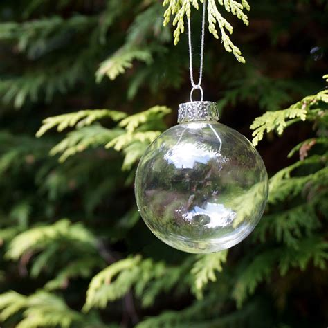 outdoor christmas ornaments christmas glass balls clear baubles ornaments decorations