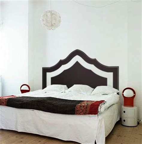Wall Decal Headboards by Modern Headboard Beautiful Wall Decals