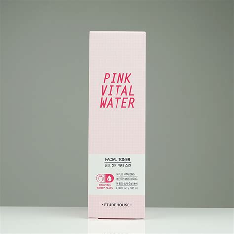 Harga Pink Vital Water Etude House etude house pink vital water skin review