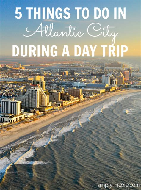 5 things to do in atlantic city during a day trip