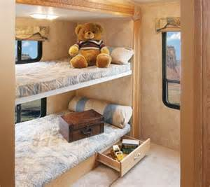 Rv With Bunk Beds Bunk Bed Beds And Bunk Rooms On