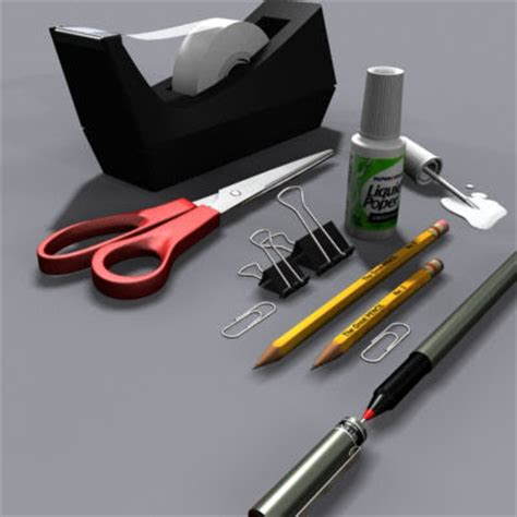 Used Office Supplies by Different Types Of Essential Office Equipments