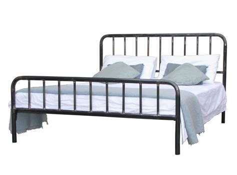 my space atakama three quarter metal bed frame beds