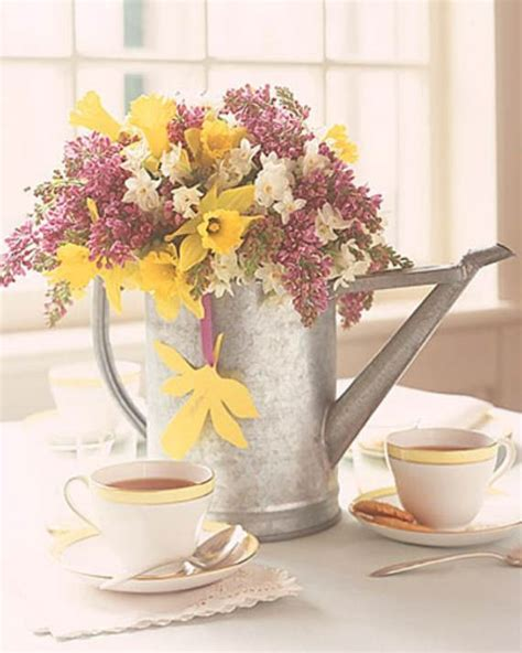 spring table decorations 35 simple spring flower arrangements table centerpieces