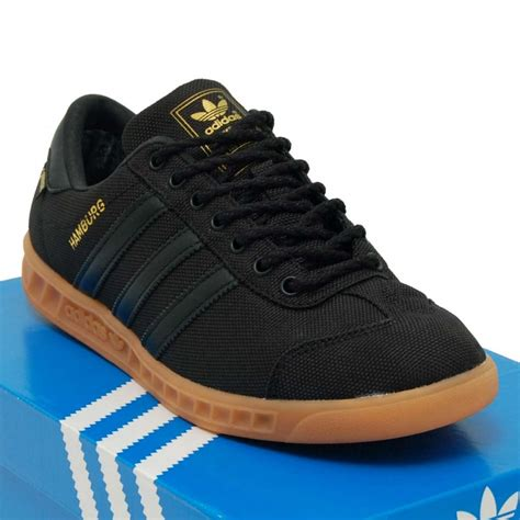 adidas gore tex adidas originals hamburg gore tex core black gum mens