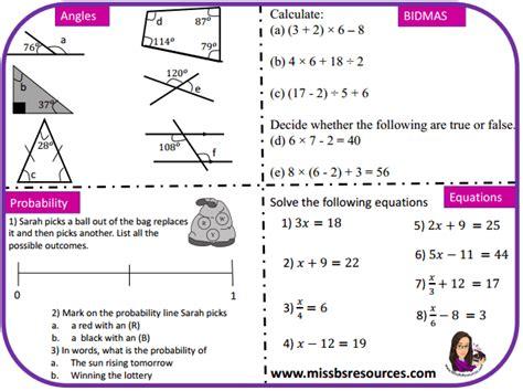maths gcse wit revision resources
