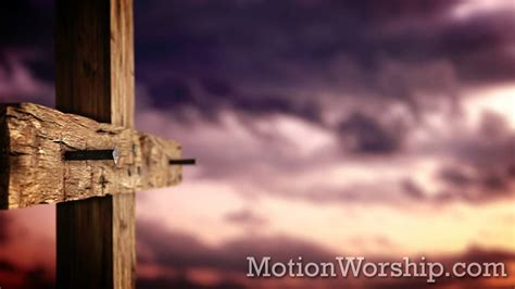 rugged cross rugged cross nails sunset hd looping background by motion worship