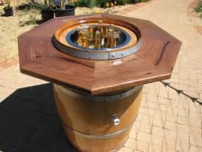 Patio Furniture With Gas Fire Pit Table Wine Barrel Table Top Bing Images Products I Love