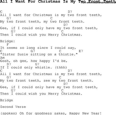 printable lyrics all i want for christmas is you christmas carol song lyrics with chords for all i want for