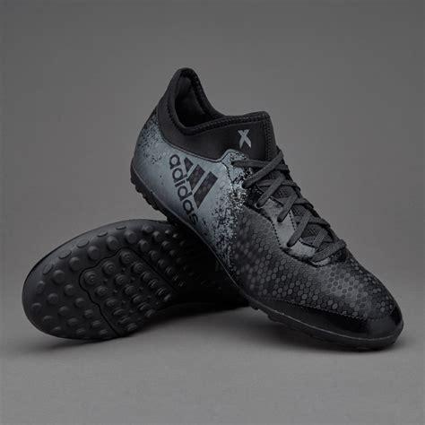 adidas x 16 3 cage junior boots turf trainer black grey solar