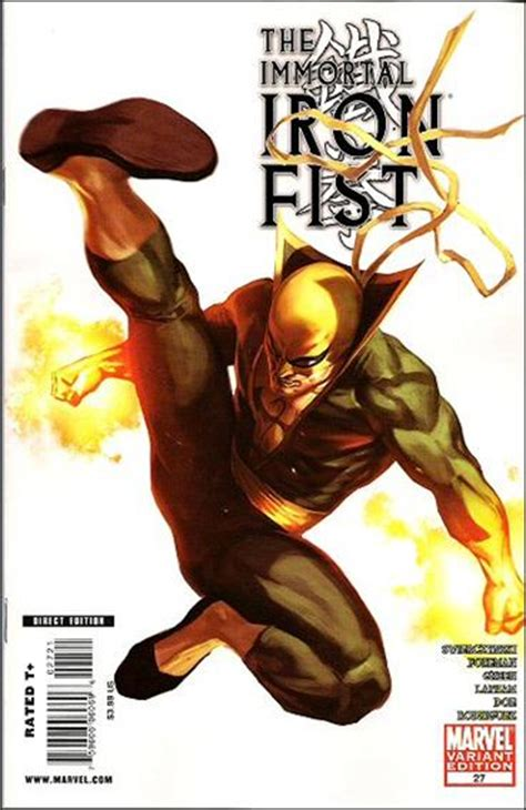 immortal iron fist 27 a aug 2009 comic book by marvel immortal iron fist 27 b aug 2009 comic book by marvel