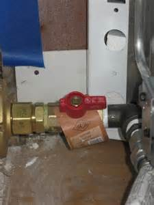 install gas line for stove closer to wall doityourself
