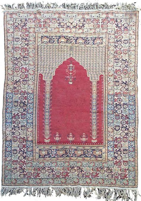 Turkish Prayer Rugs by Turkish Prayer Rug Early 20th Century 163 550