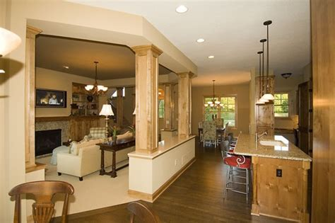 kitchen great room design ideas pipestone 1899 4 bedrooms and 3 baths the house designers