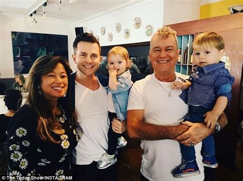 lucy lawless family tree jimmy barnes dotes on son david cbell s young twins