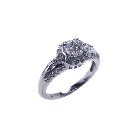 925 sterling silver cz ring ebay